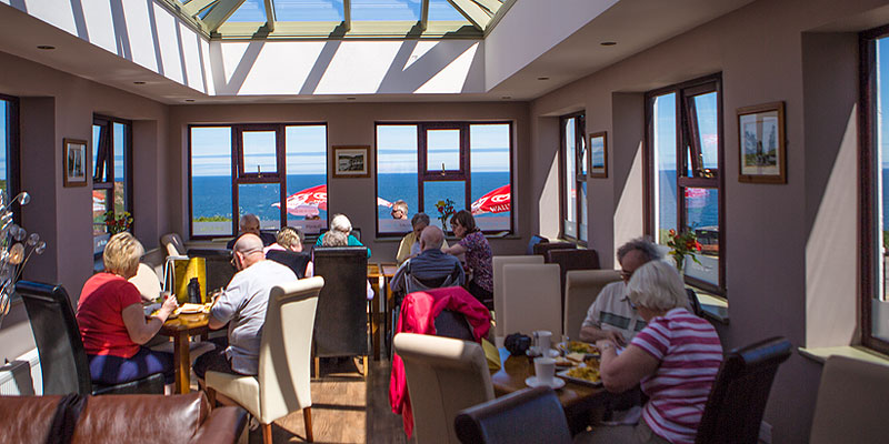 Starters, Main Courses, Desserts, Ice Creams, Snacks, Light Meals & Beverages at Flamborough Head, Yorkshire Heritage Coast
