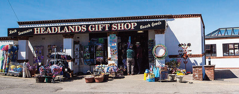 Headlands Gift Shop, An Aladdin's Cave, Regatta Clothing & Footwear, Everything for the Beach, Souvenir
