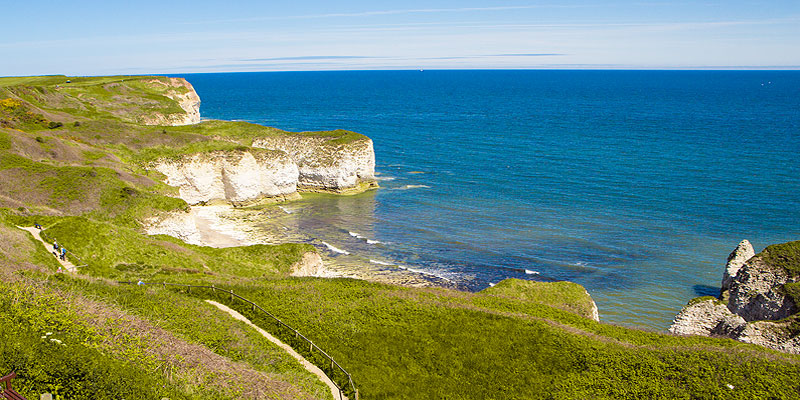 Visitor Attractions - Flamborough Head Lighthouse, Bempton Cliffs RSPB Reserve Visitor Centre, Living Seas Centre, Danes Dyke, Bridlington and Sewerby Hall & Gardens