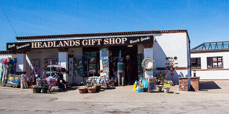 Headlands Gift Shop - An Aladdin's Cave - Regatta Clothing & Footwear - Everything for the Beach - Souvenir